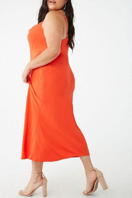 Plus Size Cowl Neck Midi Dress, image 2