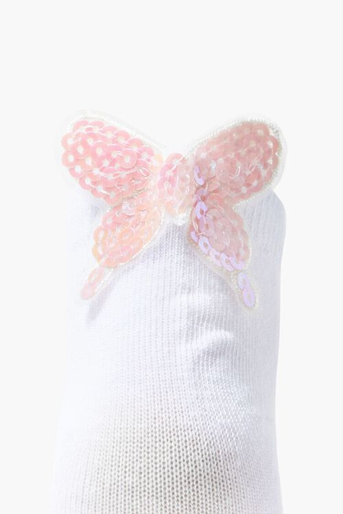 Butterfly Applique Ankle Socks, image 3