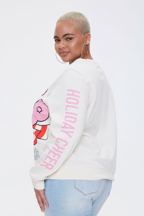 Plus Size Cheer Bear Light-Up Pullover, image 2
