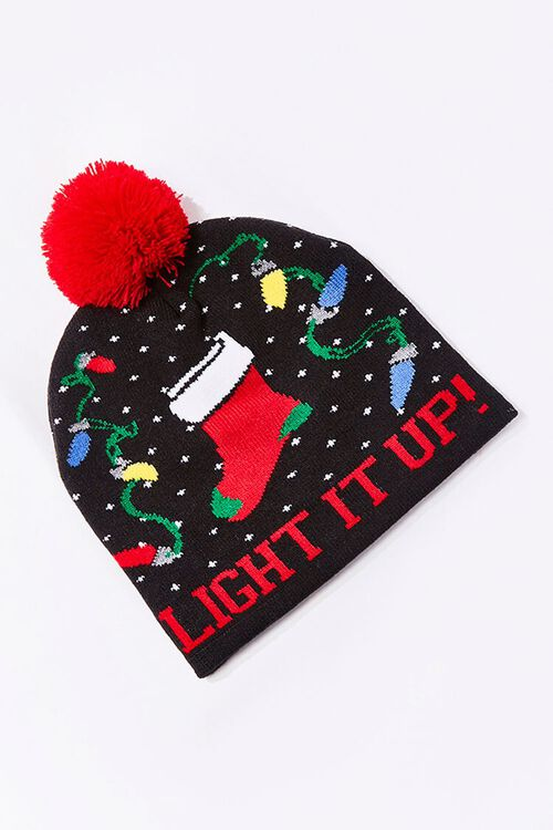 Light It Up Christmas Beanie, image 1