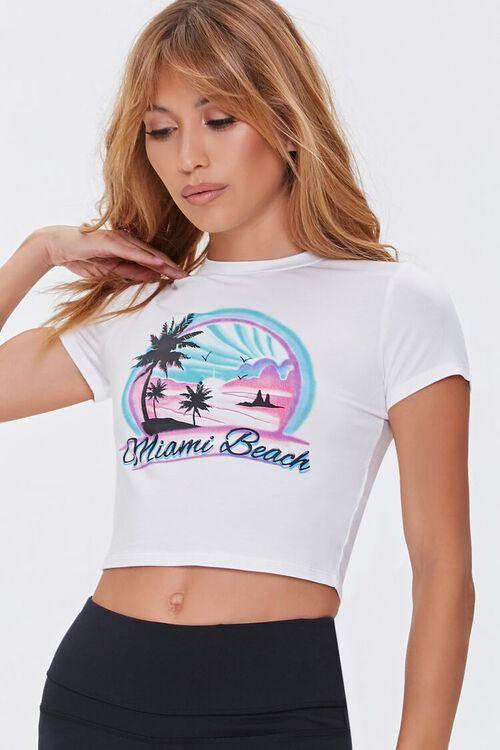 Miami Beach Cropped Tee, image 6