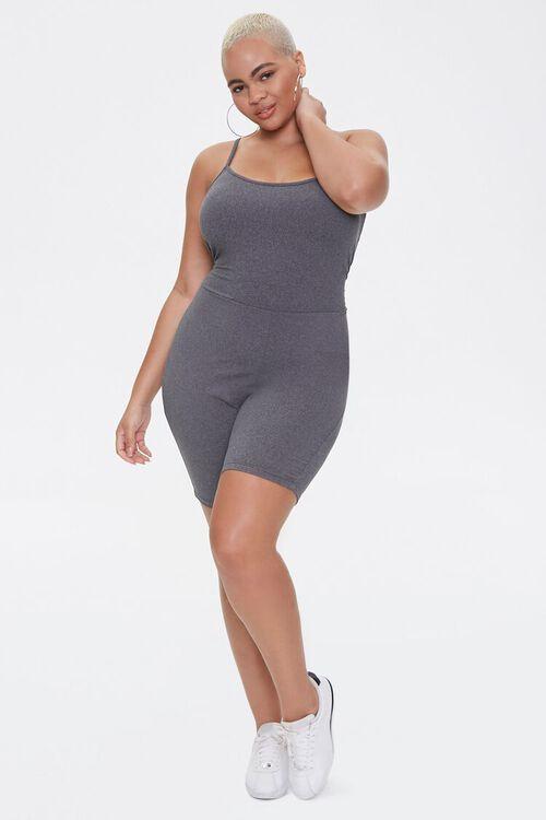 Plus Size Cami Romper, image 4