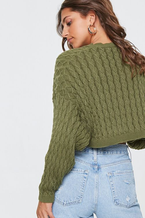 Textured Batwing-Sleeve Sweater, image 3