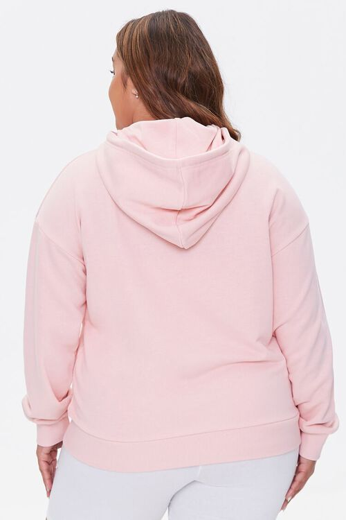 PINK/BROWN Plus Size Equality For All Hoodie, image 3