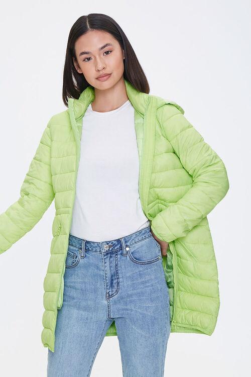 Hooded Puffer Jacket, image 1