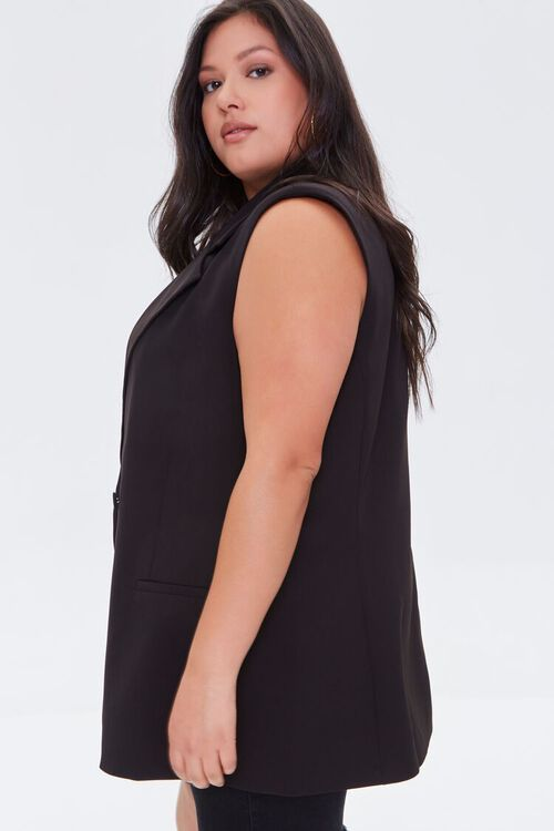 Plus Size Double-Breasted Vest, image 2