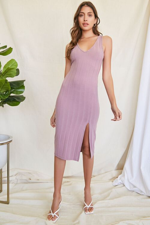 Ribbed Knit Tank Dress, image 4