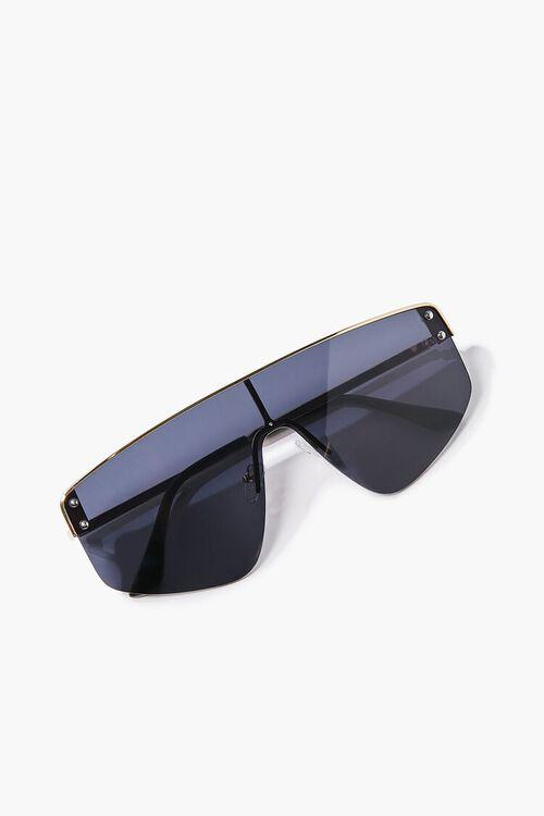 Bar-Accent Shield Sunglasses, image 5