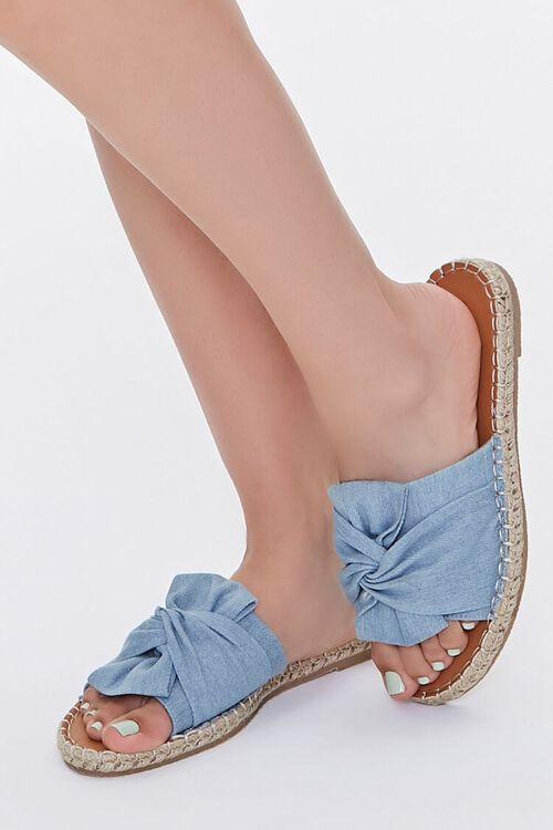 Bow-Top Espadrille Flatform Sandals, image 1