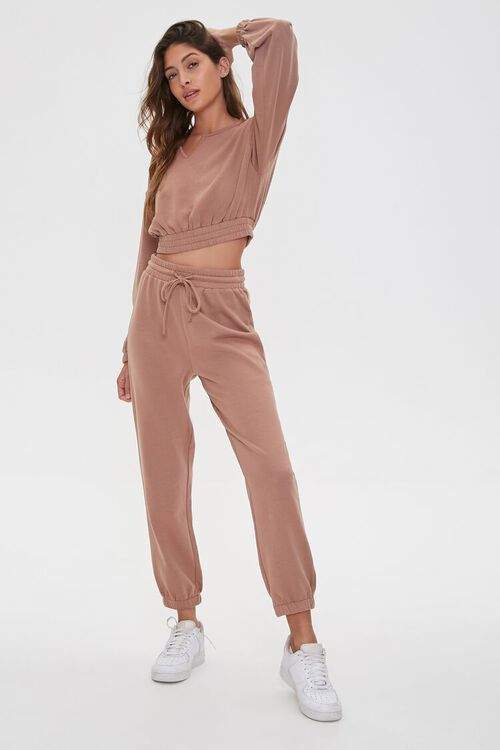 French Terry Pullover & Joggers Set, image 1