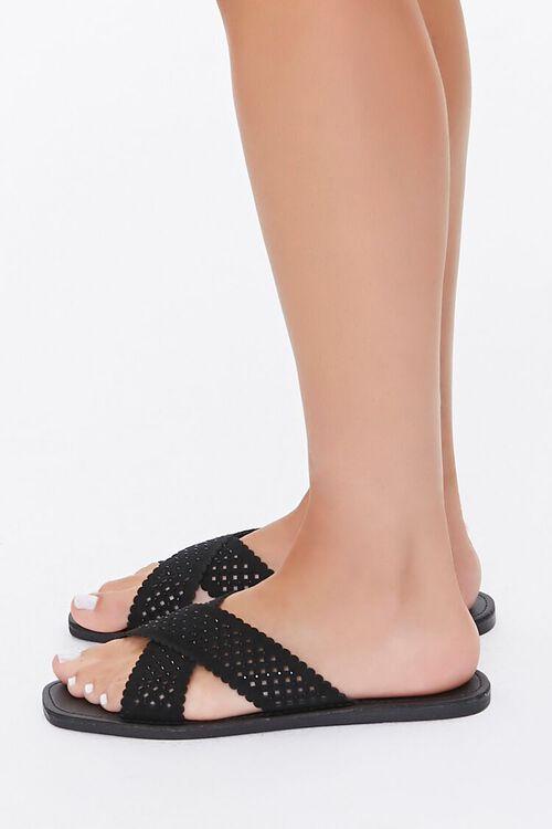 Crisscross Slip-On Flat Sandals, image 3