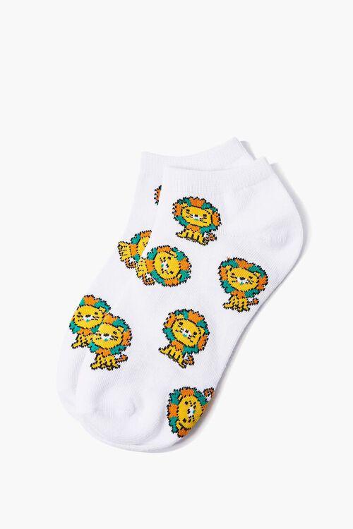 Lion Graphic Ankle Socks, image 2