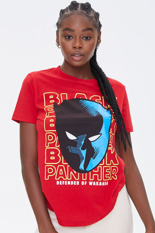 Black Panther Graphic Tee, image 1