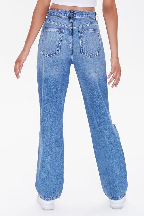 MEDIUM DENIM Distressed 90s-Fit Jeans, image 4