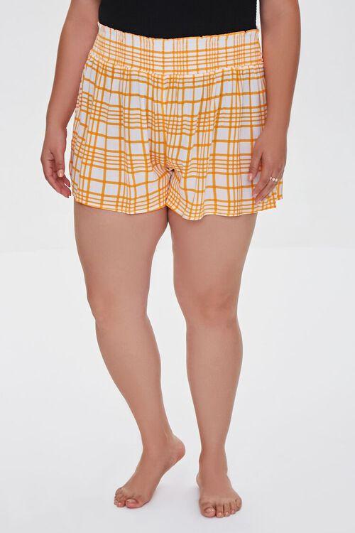 Plus Size Swim Cover-Up Shorts, image 2
