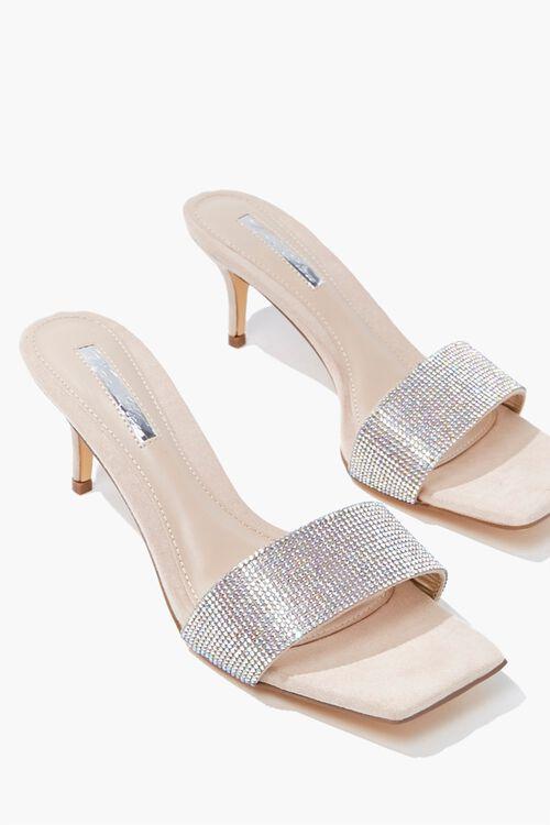 Rhinestone Slip-On Heels, image 3