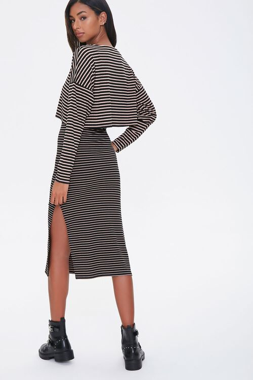 Striped Top & Skirt Set, image 2