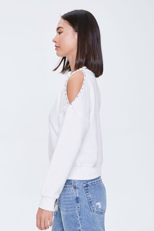 Beaded Open-Shoulder Pullover, image 2