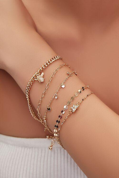 Insect Charm Bracelet Set, image 1