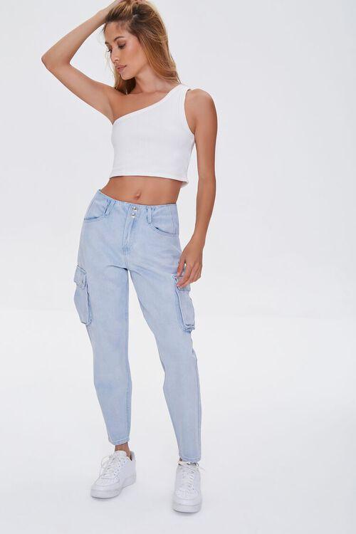 Cargo Pocket Jeans, image 1