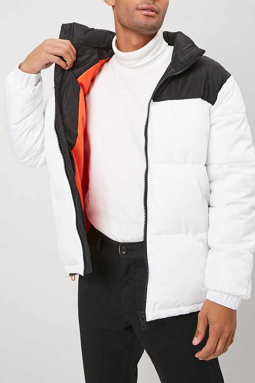 Colorblock Puffer Jacket, image 5