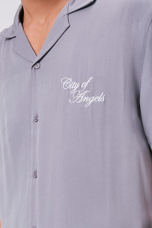 Classic Fit Embroidered Shirt, image 5
