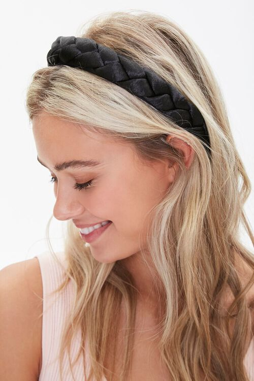 Wide Braided Headband, image 1