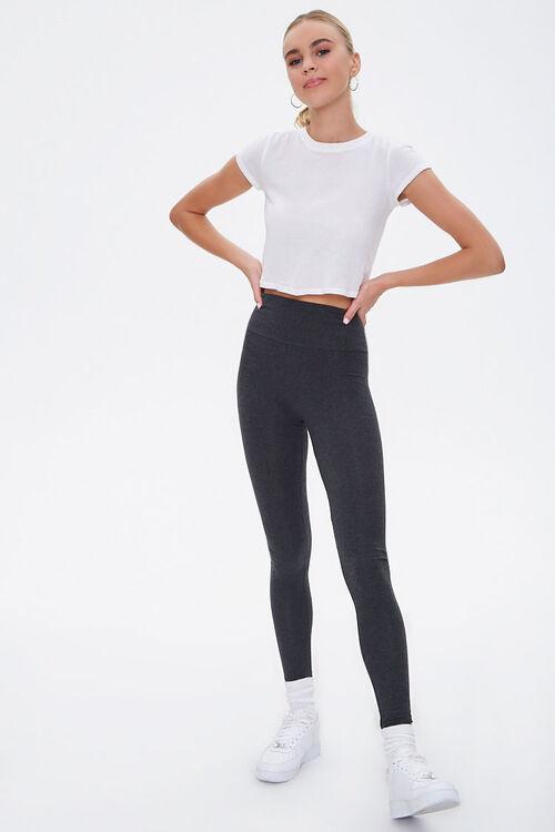 Basic Cotton-Blend Leggings, image 5