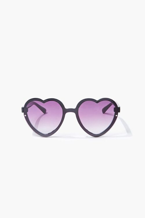 Slim Heart-Shaped Sunglasses, image 1
