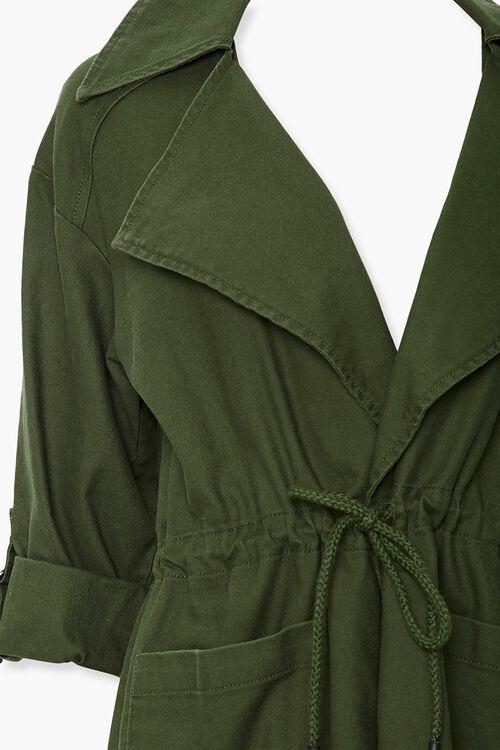 Cuffed Drawstring Jacket, image 3