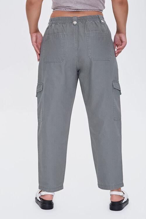Plus Size Cargo Ankle Pants, image 4
