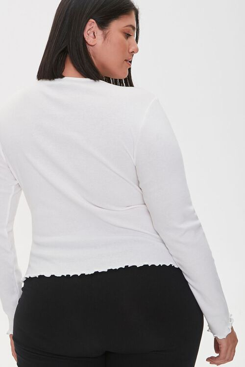Plus Size Spoiled Graphic Top, image 3