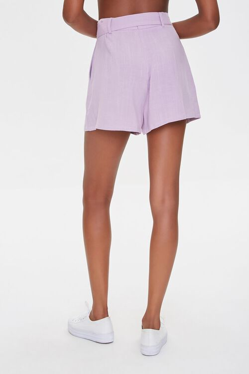 Pleated Linen-Blend Shorts, image 4