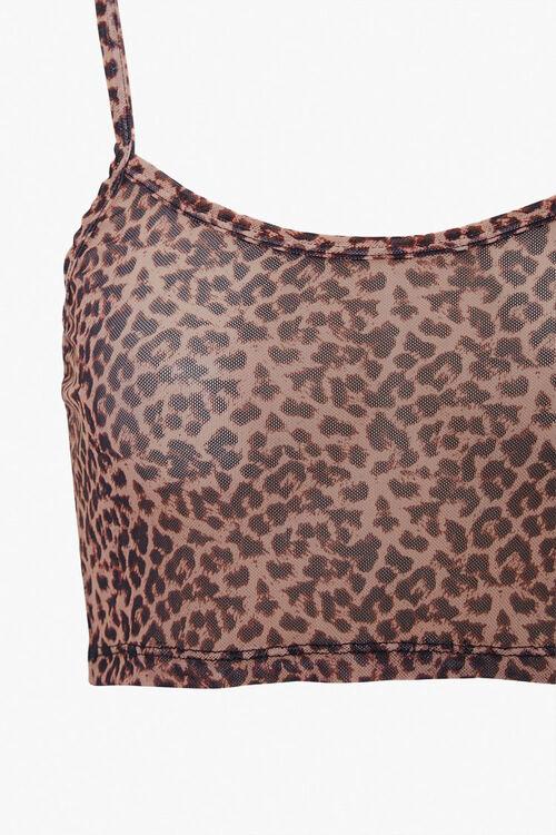 Leopard Print Cami & Leggings Set, image 4