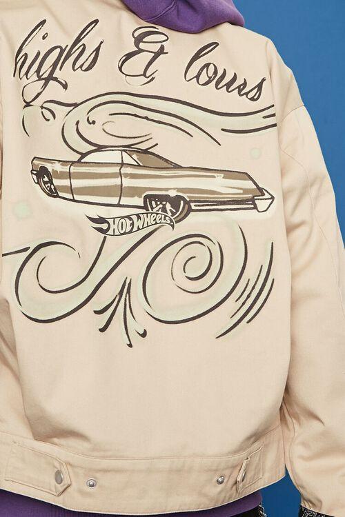 Hot Wheels Graphic Bomber Jacket, image 7
