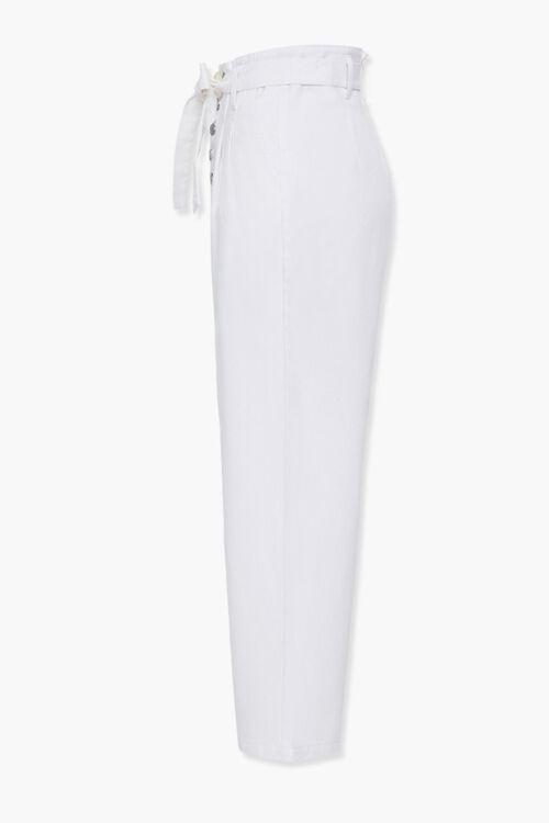 Wide-Leg Paperbag Jeans, image 2
