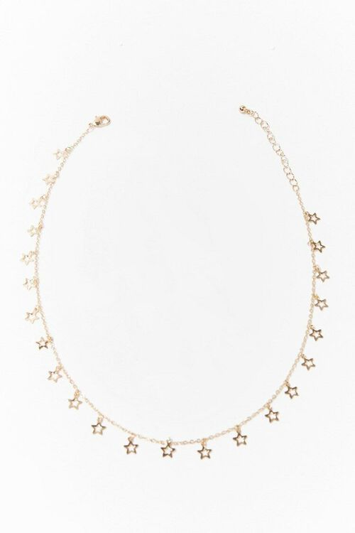 GOLD Star Charm Chain Necklace, image 4