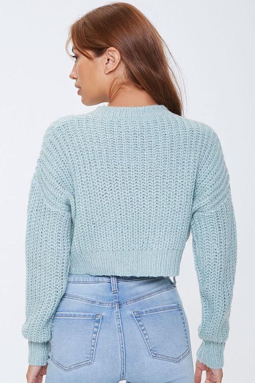 Ribbed Drop-Shoulder Sweater, image 3