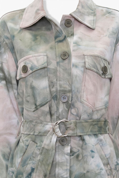 Tie-Dye Shirt Jacket, image 4