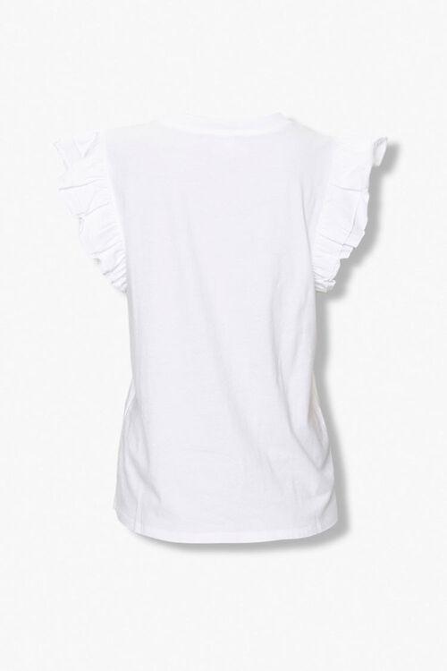 Tiered Ruffle Sleeve Top, image 3