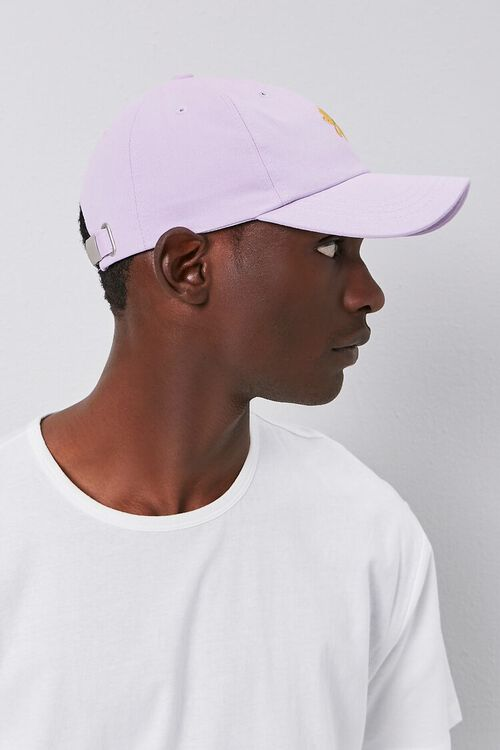 Floral Embroidered Graphic Dad Cap, image 2
