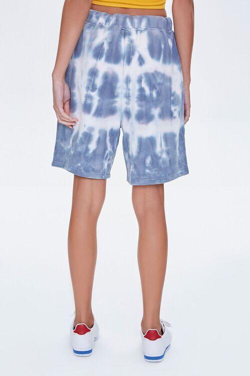GREY/CREAM Bleached Drawstring Shorts, image 4