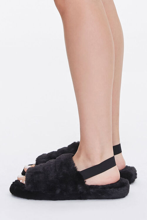 Plush Tiered Slippers, image 2