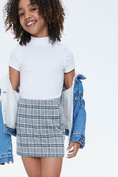 Girls Plaid Skirt (Kids), image 1