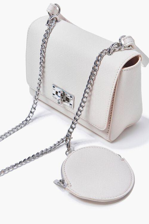 CREAM Faux Leather Crossbody Bag, image 4