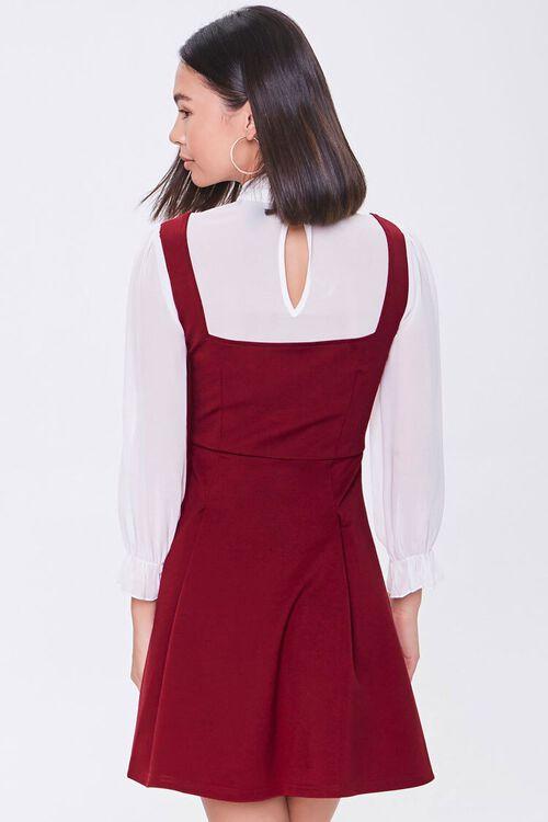 Chiffon Combo Dress, image 3