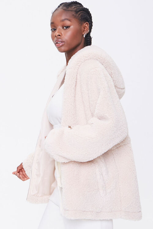 Plush Hooded Jacket, image 2