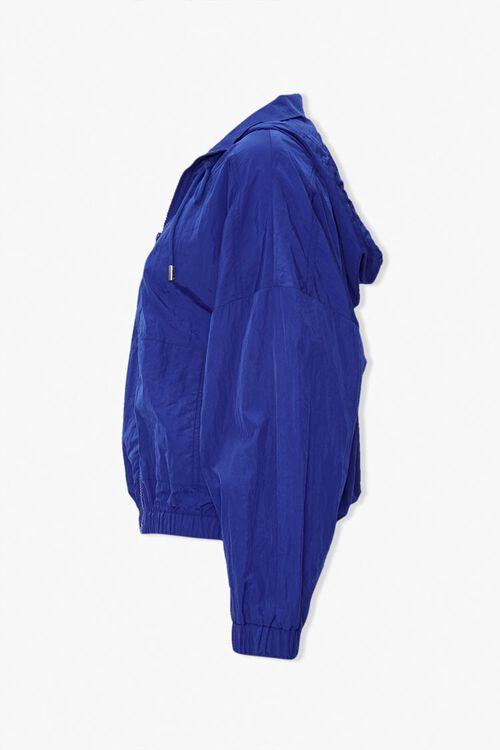 Hooded Zip-Front Windbreaker, image 2
