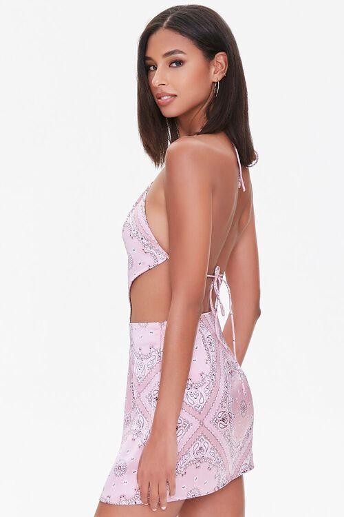 Paisley Print Mini Skirt, image 2