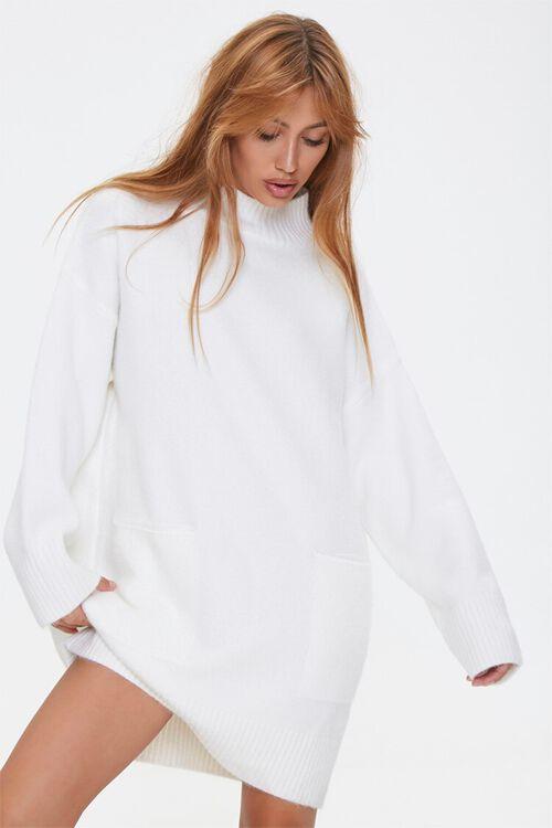 Marled Sweater Dress, image 1